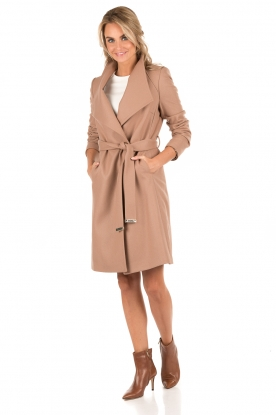 Ted Baker | Wollen trenchcoat Aurore | camel