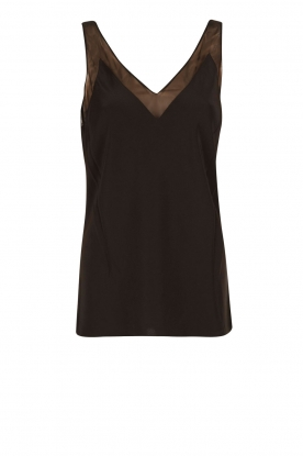 Ted Baker |  Silk top Leiaa | black