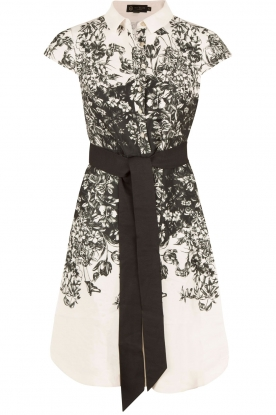 Ted Baker | Dress Hoppe | black and white