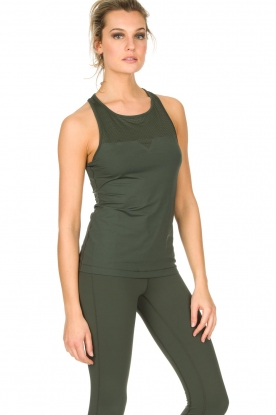 Casall |  Sports top Pro | khaki green
