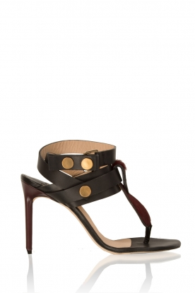 By Malene Birger | Leren sandalen Devonne | zwart