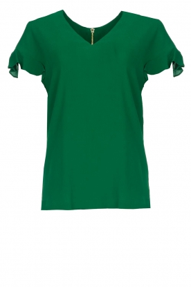 Dante 6 |  Top with ruffles Luxa | green