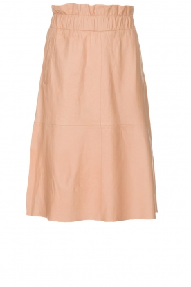 Dante 6 | Leather skirt Temari | pink