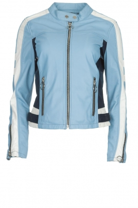 OAKWOOD | Leaher jacket Gigi | blue