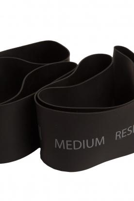 Casall | Resistance bands medium | zwart