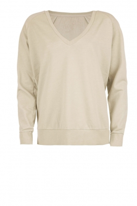 Sweatshirt Matin | green