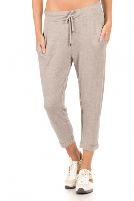 Cropped sweatpants Kasey | light bruin