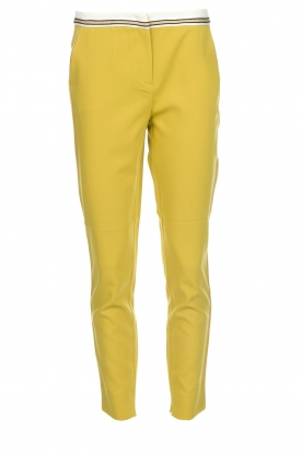 Aaiko |  Pants Parat | ochre yellow