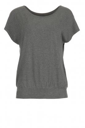 Juvia | T-shirt Mel | grijs