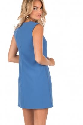 Lace-up dress Grazie | blauw