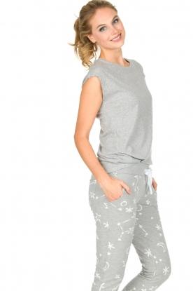 Juvia | Katoenen T-shirt Galaxy | grijs