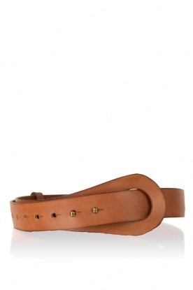 Leather belt Ayo | brown