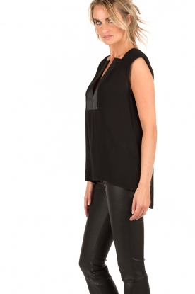 ELISABETTA FRANCHI | Top Superbo | zwart