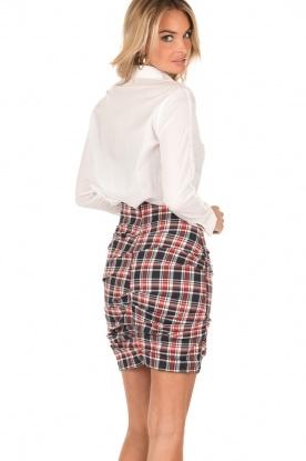 High-waist skirt Fabuloso | red