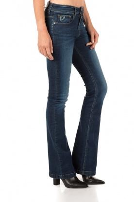 Flared jeans Melrose lengtemaat 34 | blauw