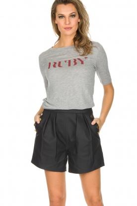 Ruby Tuesday | T-shirt Lou | Grijs