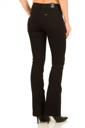 Flared jeans Melrose inseam 34 | black