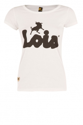 Lois Jeans | Top Logo | wit