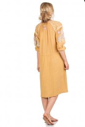 Antik Batik | Jurk Danah | geel