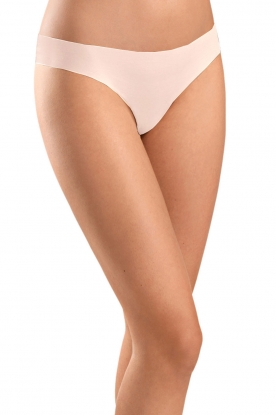 Hanro |  Seamless thong Invisible Cotton | pink