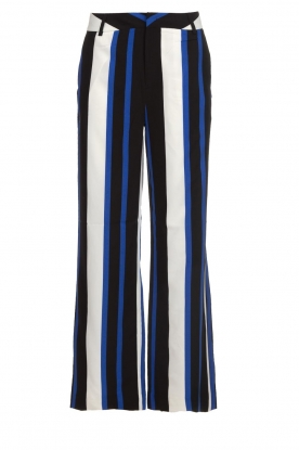 Aaiko |  Striped trousers Calida | blue