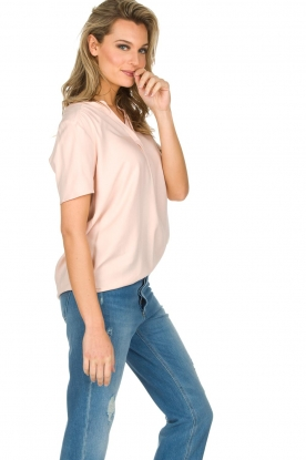 Knit-ted | Top Eef | Roze