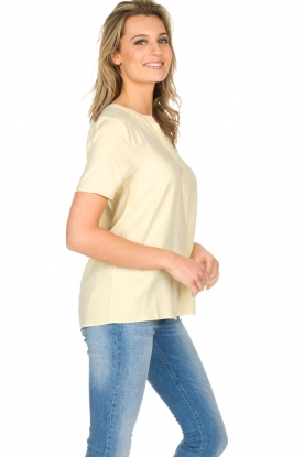 Knit-ted | Top Eef | Geel