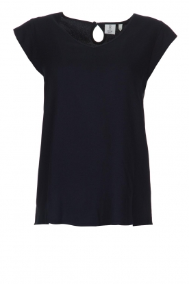 Knit-ted |  Top Edith  | dark blue