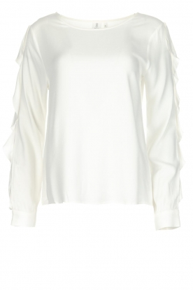 Knit-ted | Blouse Eveline | White