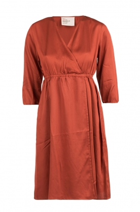 Dress Reina | rust bronw