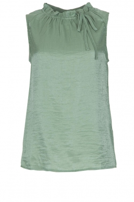 Knit-ted |  Top Karo | green