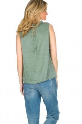 Knit-ted   Top Karo   groen