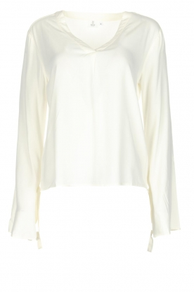 Knit-ted | Blouse Evy | White