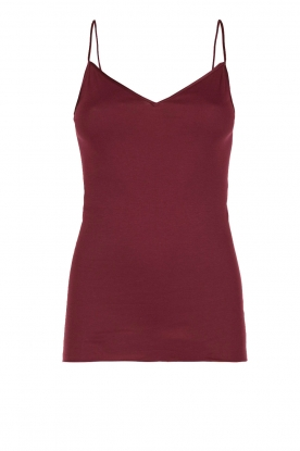 Hanro |  Seamless top Hanna | red