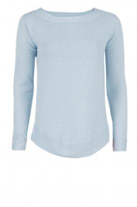 Hunkydory | Gebreide trui Watson | lichtblauw