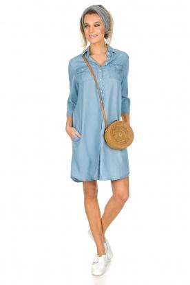 Knit-ted | Spijkerjurk Noor | blauw