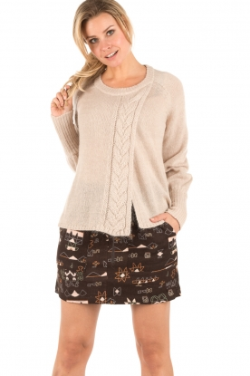 Knitted sweater Maud | naturel