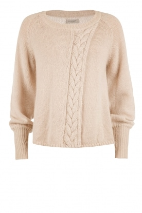 Hunkydory |  Knitted sweater Maud | naturel