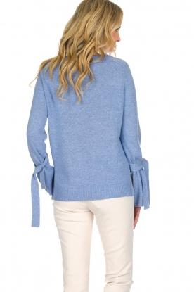 Knit-ted | Trui Jessica | blauw