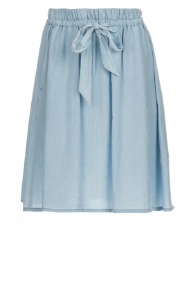 Set |  Skirt with bow detail Maddy | blue