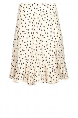 Set |Skirt with dots Lily | natural
