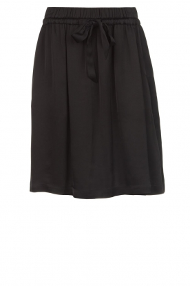 Set |  Skirt with bow detail Sigrid | black