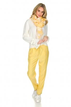 Knit-ted   Broek Kiara   geel