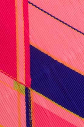 Becksöndergaard | Geplisseerde sjaal Kalmia | Roze