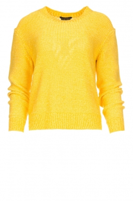 Set | Knitted sweater Lucia | yellow
