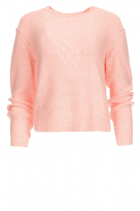 Set | Knitted sweater Liona | pink