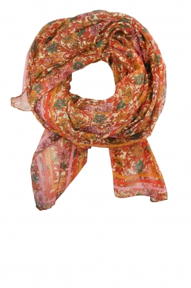Becksöndergaard |  Scarf with colourful floral print | multi