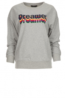 Set |  Sweater with text print Dreamer | grey