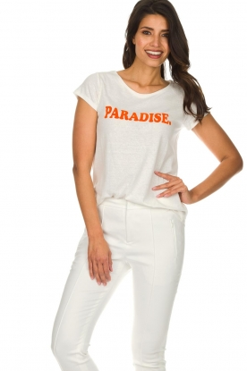 Set | T-shirt Paradise | white