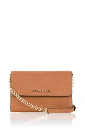 Leren mini bag Jet Set | bruin
